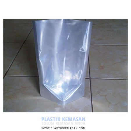 Stand Up Pouch Kombinasi Alufoil dan Transparans