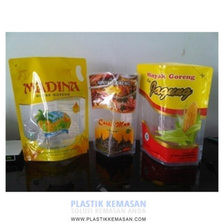 Kemasan Stand Up Pouch untuk Cooking Oil